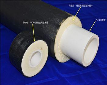 PE-RTII型预制直埋保温管