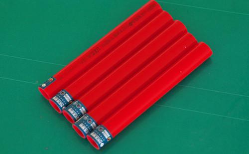 PE-RT地暖管(玫瑰红 直管)